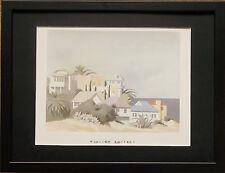 Santa Catalina by William Buffett -12''x16'' frame, holiday wall art