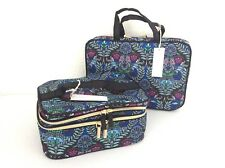 Kestrel Cosmetic Train Case & Weekender Organizer Toiletries Bag Travel Set NWT