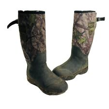 Redhead Mens Size 9 Camoflauge Waterproof Snake Proof Neoprene Pull On Boots