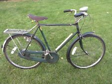 Raleigh 1953 vintage antique 3 speed English bicycle green