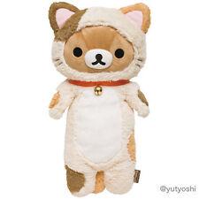 New San-X Rilakkuma 2015 Cat Kitten Hug Plush Doll Stuffed Toy Kawaii Cute JAPAN