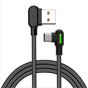 0.5/1.2/3M TYPE-C Cable QC3.0 Quick Charge Cable Fast Charging Cord