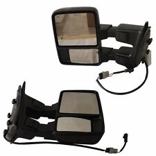TURN SIGNAL TOWING SIDE MIRROR PAIR POWER HEATED FOR FORD SUPER DUTY 08-13
