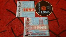 TEARS FOR FEARS **1983** VERY RARE CD **LIVE IN USA 1983 & 1991