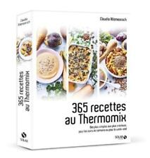 365 recettes au thermomix Allemeersch  Claudia Neuf Livre