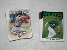 2021 Topps Series 2 Inserts - Complete your sets - Buy More & Save More FAST!