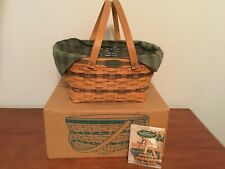 LONGABERGER Traditions Collection 1996 COMM7NITY BASKET Combo