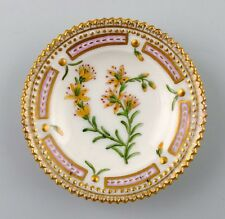 Royal Copenhagen Flora Danica caviar dish. Number 20/3501