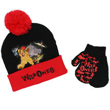 The Lion Guard Toddler Beanie Hat and Mittens Set LGF68106ST One Size Disney