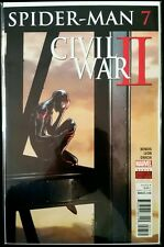 SPIDER-MAN #7 (Miles Morales) Civil War II (2016 MARVEL Comics) VF/NM Comic Book