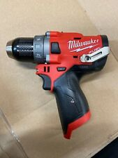 Milwaukee M12 FUEL Brushless Cordless 1/2 In Drill Driver Bare Tool Only 2503-20