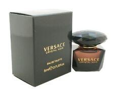Versace Crystal Noir Women Mini Bottle 0.17 oz / 5 ml Eau De Toilette Dab-On Nib
