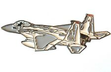 F15 Eagle USAF Tactical Fighter Jet Military Metal Enamel Aircraft Badge