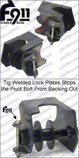 Chromoly HD IRS Trailing Arm Pivot Brackets For Stock Torsion Housing - VW Buggy