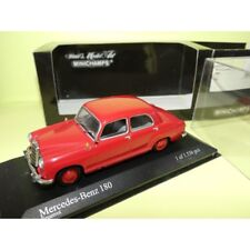 MERCEDES 180 W123 1953 Rouge Red MINICHAMPS 1:43