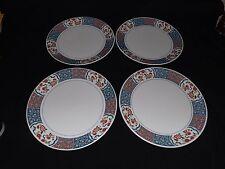 "Noritake Japan Progression Ming Garden 4 Dinner Plates 10 1/2"""