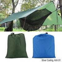 Portable Camping Bâche de Tente Protection Tampon Tissu en Nylon Imperméable