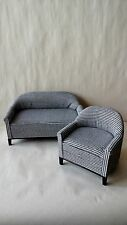 Economy Priced 1:6 Scale Furniture for Fashion Dolls  2pc. Sofa Set 4300BW