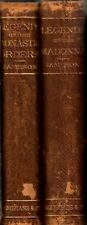 1879 LEGENDS OF THE MADONNA + MONASTIC ORDERS 2vols, Anna Jameson ILLUSTRATED