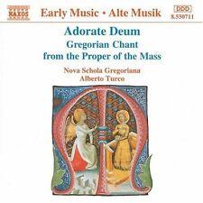 Alberto Turco, Nova - Adorate Deum Gregorian Chant [New CD]