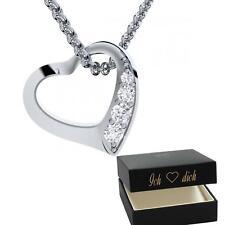 Herzkette Silber 925 ❤️ Geburtstag Geschenk Freundin Mama Mutter Frau