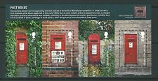 GREAT BRITAIN 2009 POST BOXES MINIATURE SHEET UNMOUNTED MINT, MNH