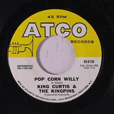KING CURTIS: Pop Corn Willy / Patty Cake 45 Funk