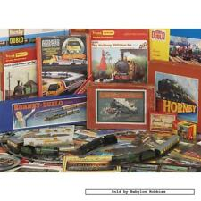 1000 pcs jigsaw puzzle: Hornby - Through the Ages (Trains) (Gibsons G7018)