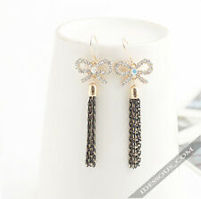 Luxus Gold Ohrringe & Perlen Ohrhänger Damen Ear Rings Ohrstecker  LA FERANI