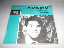 ADAMO 45 TOURS HOLLANDE TOMBE LA NEIGE