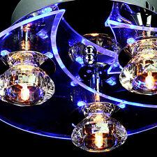 Moderno LED lampadario di cristallo luce di soffitto Luna Stelle Flush Mount