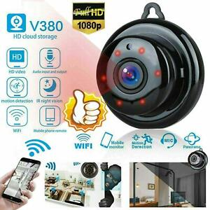 Mini Camera WiFi Wireless Small Video 1080P Night Vision For Home Indoor Outdoor
