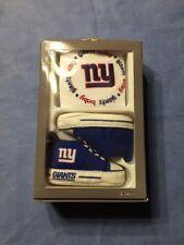 NIB*NFL* New York Giants BIB & PRE-WALKERS SET****Sz, 0-6 Months