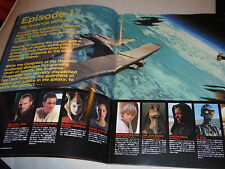 STAR WARS Episode 1 The PHANTOM MENACE Japanese cinema PROGRAM pressbook RARE!!