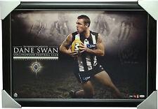 Dane Swan SIGNED Collingwood 2011 Brownlow LIMITED EDITION Signed Print Framed