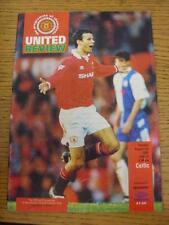 03/08/1993 Manchester United v Celtique [Friendly]. Cet objet est en très bon avec