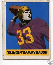 1948 Leaf Football Card #34 Sammy Baugh-Washington Redskins-Texas Christian