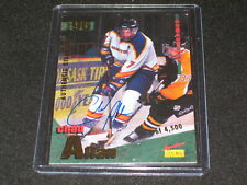 CHAD ALLAN SIGNED AUTOGRAPHED CERTIFIED HOCKEY CARD