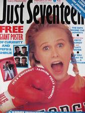 JUST SEVENTEEN MAGAZINE 25/2/87 - ROB LOWE - DON JOHNSON - PATSY KENSIT