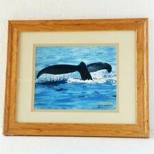 "Humpback Whale /""Blue World Symphony/"" Mark Karvon 24/"" Giclee Print"