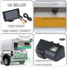 "Kit de cámara trasera inversa para Ford Transit & Conectar van, incluye 4:3"" Pantalla, Reino Unido"
