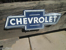 CHEVROLET LOGO  Embossed Metal Display LICENSED GM  Chevy Chevrolet GMC COO USA