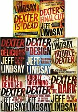 Jeff Lindsay Dexter Series Collection 8 Books Set Dexter Is Dead, Double Dexter