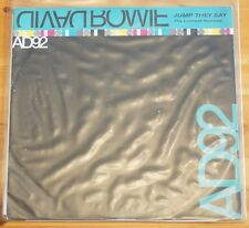 "David Bowie AD92 Jump They Say Leftfield Remix 33 RPM 12"" 4 Track DJ Promo"