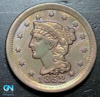 1852 Braided Hair Large Cent --  MAKE US AN OFFER!  #B3286