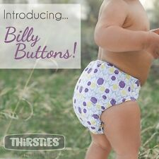 Thirsties Velcro One Size All In One, BILLY BUTTONS