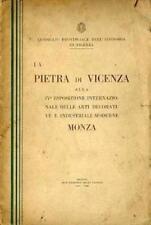 La Pietra di Vicenza alla IV Esposizione Internazionale delle arti decorative e