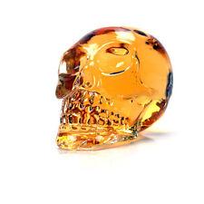 Crystal Skull Head Vodka Shot Whiskey Wine Drinking Glass Bottle Wine Decanter