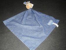 Doudou Plat Ours Beige Bleu Blue Denim Lange Mouchoir Kaloo Neuf 2 Disponibles