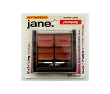 JANE.* Lip Plumping #08 SPICY CORALS Gloss/Color Palette w/Brush NO PARABENS New